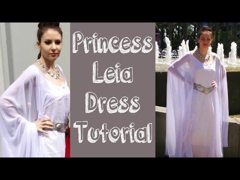 Princess Leia Ceremonial Dress Tutorial