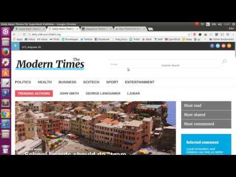 Superdesk Publisher Web Monitoring - Screencast