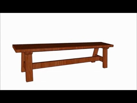 Rustic Bench Seat Plans