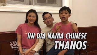 The Onsu Family - Ini dia nama Chinese Thanos