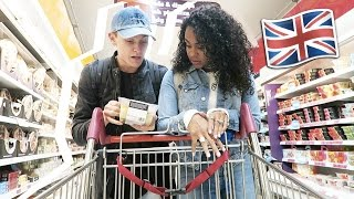 GROCERY SHOPPING IN A BRITISH SUPERMARKET 🇬🇧