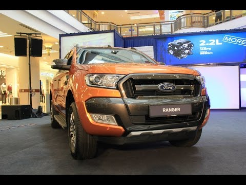 New Ford Ranger 2015 Launch in Malaysia