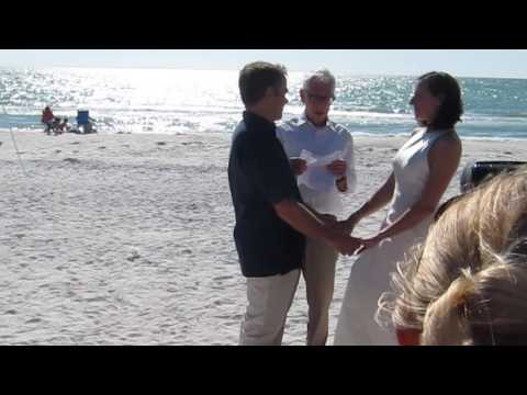 Patrick and Tasha Beach Wedding 4-23-16 Pass a Grille, FL