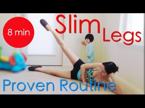 Slim Lean Legs 8 Min Express Routine