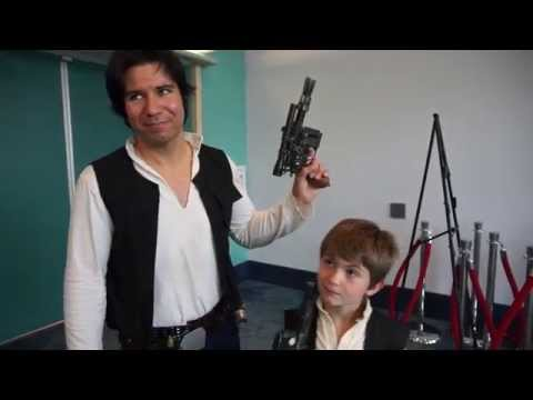 Han Solo Cosplayers Cannot Be Stumped