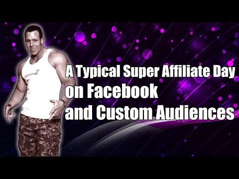 A Typical Facebook Super Affiliate $800 Profit Day, How to use Facebook Audience Insights