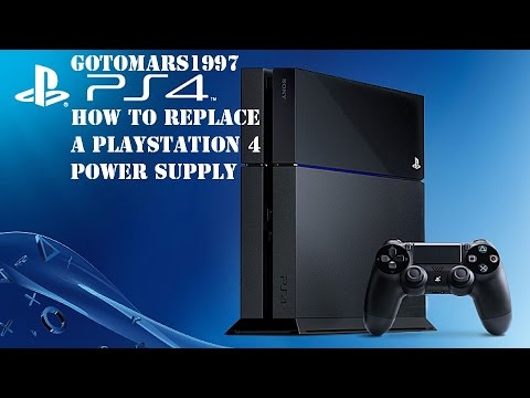 How To Repairs | PlayStation 4 Power Supply Repair / Replacement