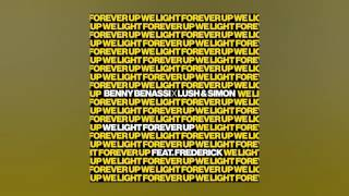 Benny Benassi x Lush & Simon - We Light Forever Up feat. Frederick (Cover Art)