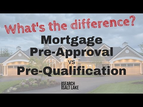 Mortgage Pre-Approval VS Pre-Qualification? What's the difference?