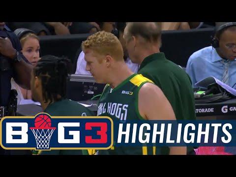Ball Hogs vs Tri-State   BIG3 HIGHLIGHTS