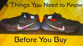 new arrival 29c9a 1f2a0 Nike Kobe AD NXT 360  4 Things Before you Buy