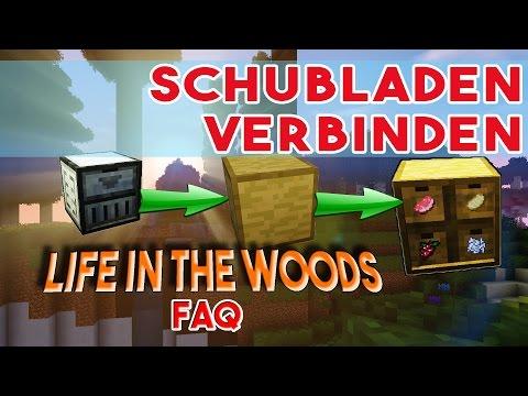 LIFE IN THE WOODS Trim! Schubladen verbinden mit Drawer Trims - Minecraft FAQ
