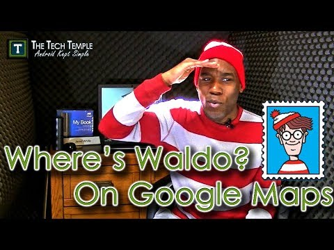 Where Is Waldo?  Find Him On Google Maps of Course!