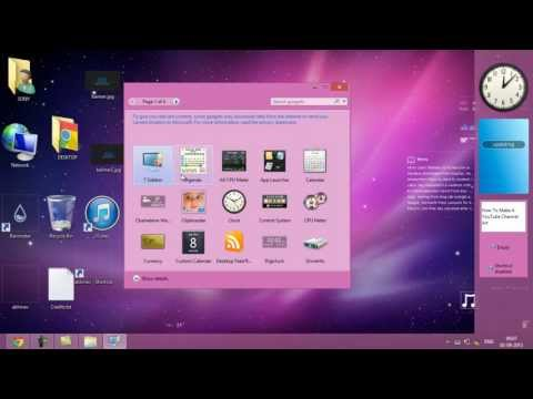 How To Get Gadgets / Widgets In Windows 8