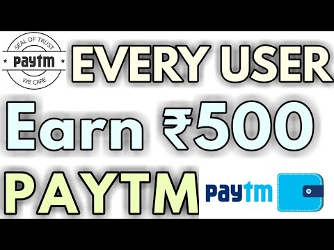 Earn ₹500 Free Paytm Cash Every User 🤑🤑🤑