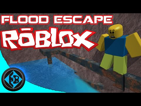 Roblox - Obby Time- FLOOD ESCAPE!