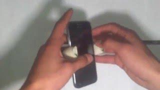 homemade cell phone holder