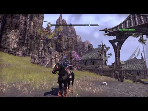 Elder Scrolls Online Mounts Preview