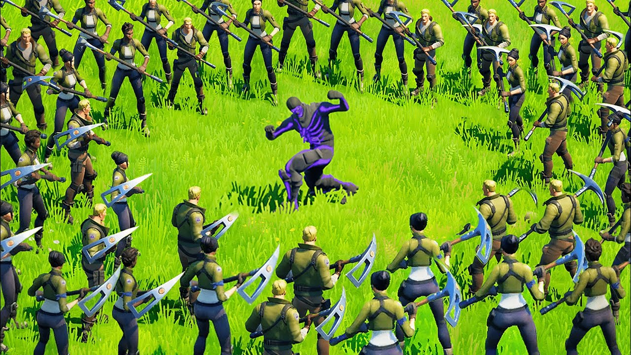 the ultimate fortnite manhunt