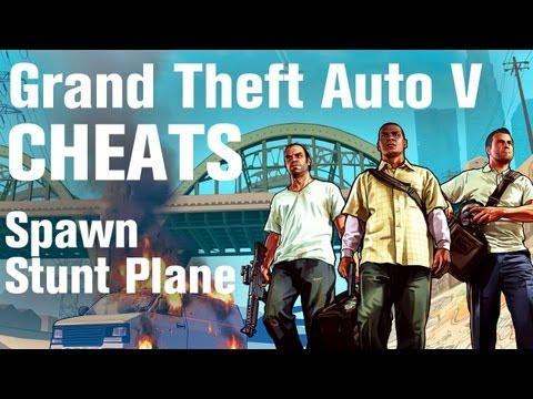 GTA 5 Cheats - Spawn Stunt Plane