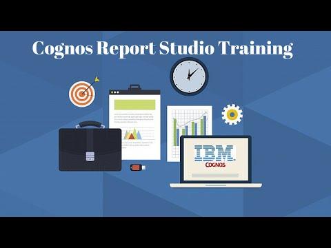 Cognos Report Studio Training Video | Cognos Report Studio Online Course