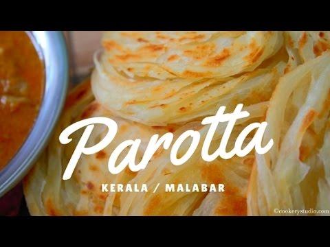 How to make Kerala Parotta at Home | Easy Kerala Parotta Malabar Parotta