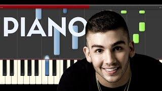 Manuel Turizo Esperandote Piano Midi tutorial Sheet app Cover Karaoke