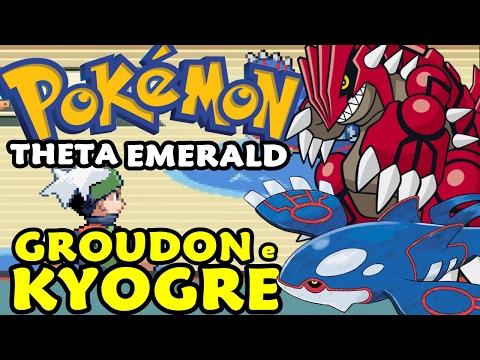 Pokémon Theta Emerald (Detonado - Parte 37) - Kyogre e Groudon
