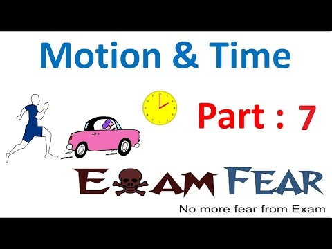 Physics Motion and Time Part 7 (Distance time Graph) Class 7 VII