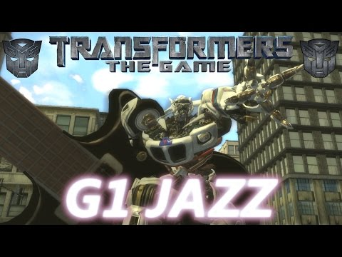 ROCKIN' AND ROLLIN' WITH G1 JAZZ | Transformers: The Game G1 Jazz