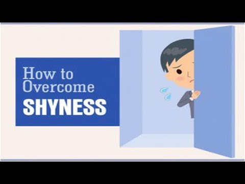 HOW TO OVERCOME SHYNESS AND BUILD YOUR SELF CONFIDENCE