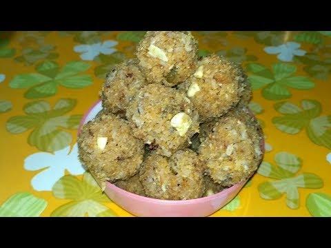Ghee se nikle hue (mave) aur fresh naariyal ke laddu hindi mai