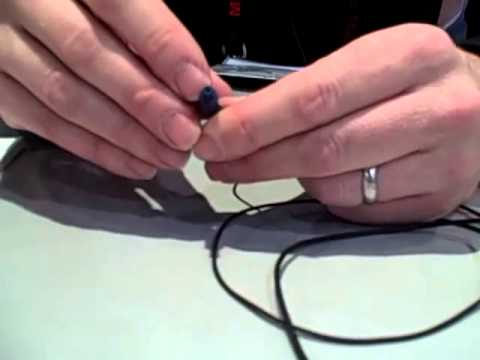 Etymotic Research - Changing the filter in your earphones