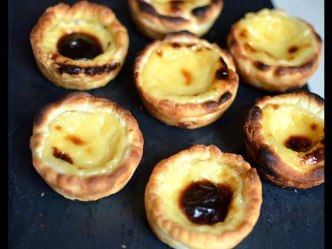 AirFryer recipe - Pasteis de Nata (Portuguese egg tarts)