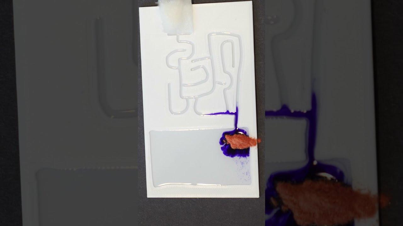 This Liquid Can Solve Complex Mazes