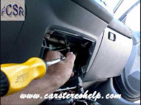 Honda Civic Car Stereo Removal