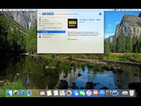 Lightning Fast Searching on The Mac