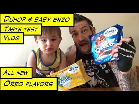 Duhop HILARIOUS OREO COOKIE NEW FLAVOR TASTE TEST Vlog