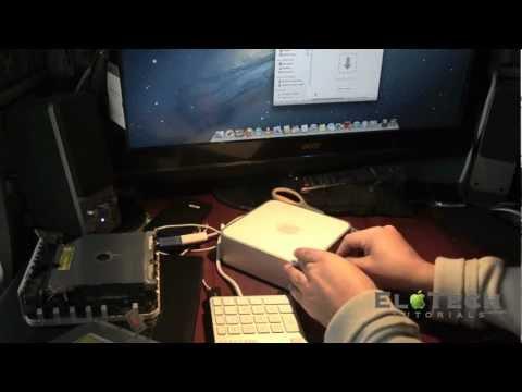 MacMini model A1238 (2009) Optical Drive Fix
