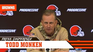Todd Monken Trusts Running Back Ability Against Anyone | Cleveland Browns