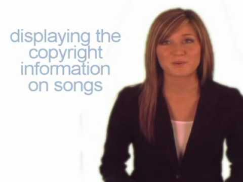 Displaying Copyright Information