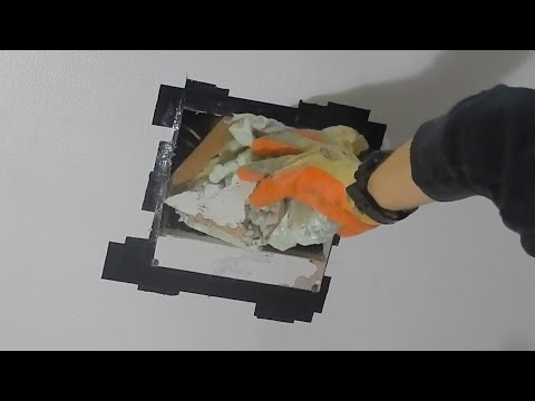 Patching a Ceiling Hole