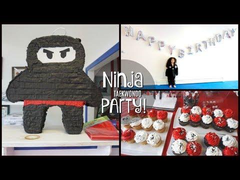 Ninja Taekwondo Party!