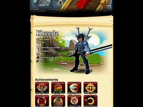 AQW awesome char pages