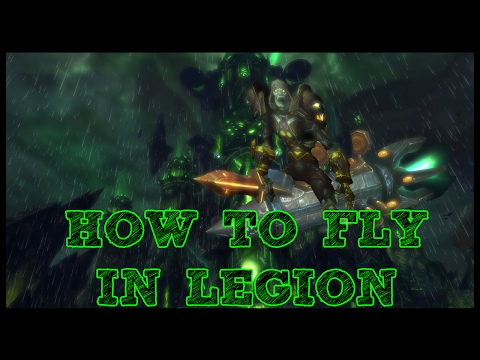 How to fly in Legion!