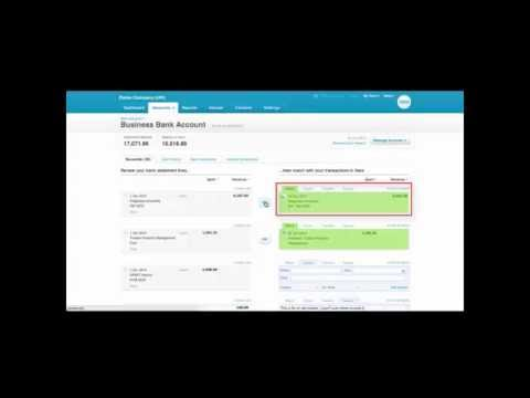 Xero Bank Reconciliation and Bank Rules