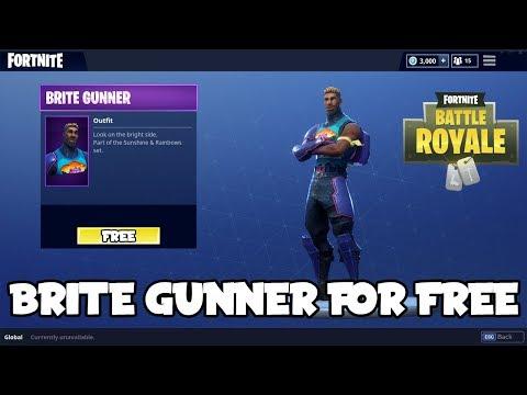 *NEW* How To Get Brite Gunner For Free On Fortnite Battle Royale! (Brite Gunner/Brite Bag)