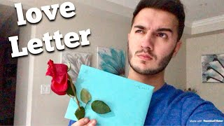 I RECEIVED A LOVE LETTER...(who sent it?)