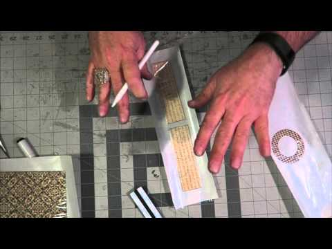 How To Make a Belly Band Card from Chipboard
