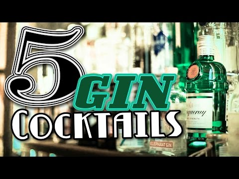 5 Gin Cocktails